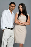 Young good looking couple Stock Photography