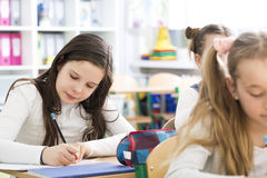 Young good student at school Stock Image