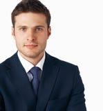 Young goodlooking businessman. stock images