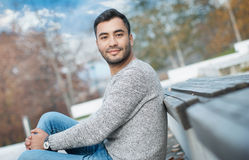 Young gorgeous man Royalty Free Stock Photo