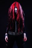 Young goth girl Stock Images