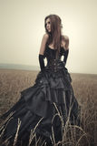 Young goth woman Royalty Free Stock Images