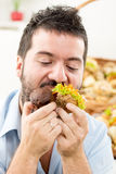 Young Gourmand Royalty Free Stock Photo