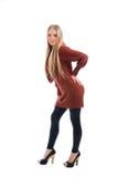 Young graceful teenage girl Stock Image