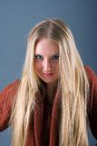Young graceful teenage girl Stock Photography