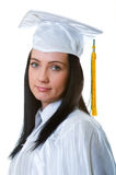 Young graduate isolated Stock Photo