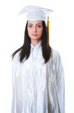 Young graduate isolated Royalty Free Stock Image