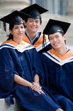 Young Graduates Stock Photography