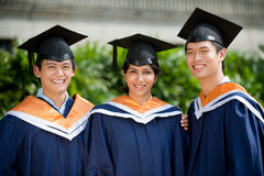 Young Graduates Royalty Free Stock Photo