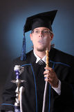 Young graduation man Royalty Free Stock Photo