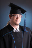 Young graduation man Stock Image