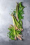 Young Green asparagus Royalty Free Stock Image
