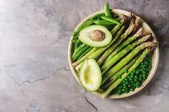 Young Green asparagus Royalty Free Stock Photos