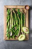 Young Green asparagus Royalty Free Stock Images