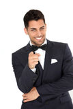 Young groom Stock Photography