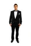 Young groom in a tuxedo Stock Photos