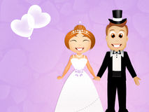 Young grooms Royalty Free Stock Images