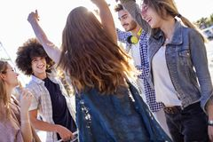Young group youth  friendship concept. Young group youth   friendship concept Stock Images