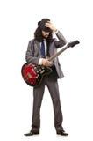 Young guitar player Stock Photos