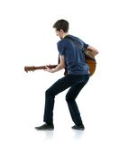 Young guitar player Royalty Free Stock Photo