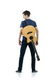 Young guitar player Royalty Free Stock Images