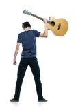 Young guitar player Stock Photos
