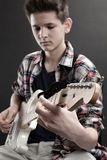 Young guitarist Stock Photos