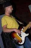 Young Guitarist bass Stock Photos