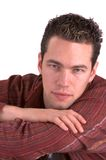 Young Guy(Isolated) stock images