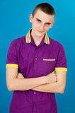 Young guy teenager Royalty Free Stock Photos