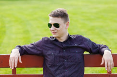 Young guy Stock Photography
