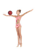 Young gymnast Stock Photos