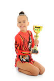 Young gymnast Royalty Free Stock Image