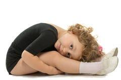 Young the gymnastic Stock Photos