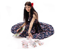 Young gypsy Royalty Free Stock Images