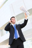 Young Handsome Business Man Stock Photography