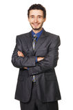 Young handsome businessman Royalty Free Stock Photography