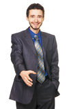 Young handsome businessman Royalty Free Stock Images