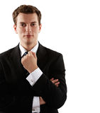 Young handsome businessman Royalty Free Stock Photo