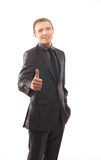 A young and handsome businessman in formal clothes Stock Photo
