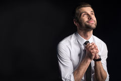 Young handsome businessman Stock Images