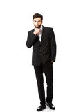 Young handsome businessman standing. Royalty Free Stock Photo