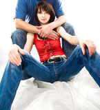 young handsome couple Royalty Free Stock Photo