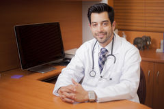 Young handsome doctor Royalty Free Stock Images