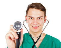 Young handsome doctor Royalty Free Stock Image