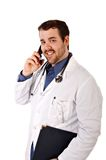 Young Handsome Doctor Smile Royalty Free Stock Photos