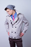 Young handsome fashion model Stock Photo