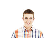 Young handsome happy smiling man Royalty Free Stock Images