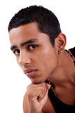 Young and handsome latin man Royalty Free Stock Image