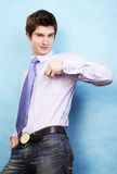 Young handsome man Royalty Free Stock Photography